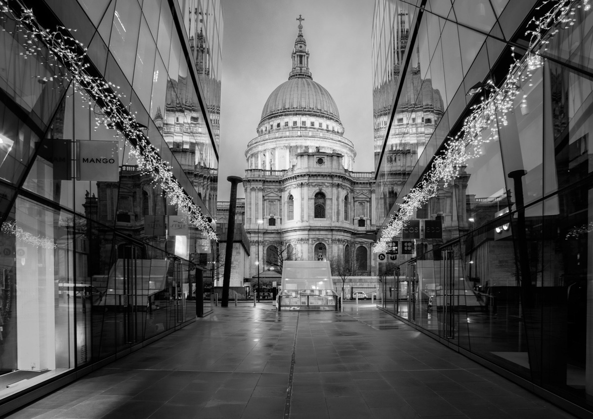 St Paul's at Christmas